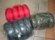 Sleeping para 4ºc army azul marino,negro,verde militar 3lib nacional nuevo y original