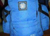 Mochila eco 35 litros azul electrica mochila-eco6 nueva y original