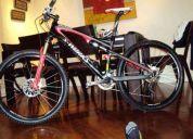 Vendo bicicleta specialized epic sworks