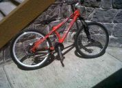 Vendo bicicleta jd para cross country o downhill