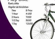 Alquiler y venta de bicicletas