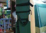 camilla de lona rescate verde camilla-2 nueva
