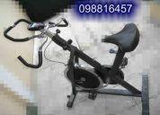 Bicicleta estatica para ejercicios y spining