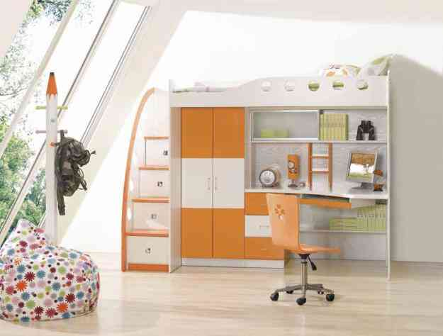 Literas dormitorio juvenil camas de ni o muebles for Dormitorio juvenil nino