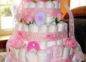 Regalo para recien nacidos, torta de pañales llama al 3464993