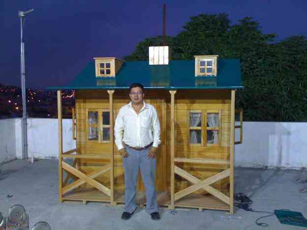 Casita de madera para ni as guayaquil doplim 1188 - Casitas de jardin para ninos de segunda mano ...