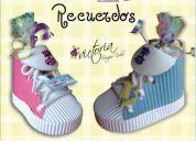 Para baby sower cajas de cartÓn en forma de zapato para recuerdo