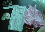 Bella ropa para niña de 0 a 12 meses en buen estado!!