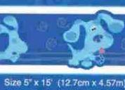 Cenefa del perrito blue, decoracion, apliques