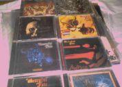 9 cds mercyful fate +parche gigante