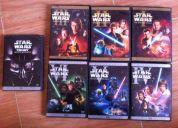 Star wars 10 dvds de colección originales (saga completa + bonus)