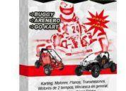 Manual cómo construir tu karting + arenero+ mecánica- planos