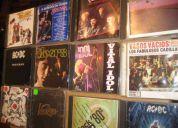 Mas de 200 cds de coleccion en exelentes condiciones rock originales