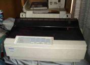 Vendo impresora epson lx 300 casi nueva