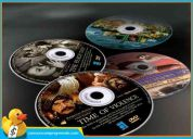 Impresiones y copias super en discos full