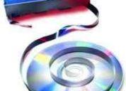 Vhs a dvd o cd
