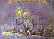 Lonpley de megadeth rust in peace lp de 1990 !!!