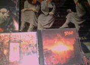 2lps black sabbath +2 cds dio
