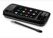 Nokia 5800 + estuche original de cuero nokia original