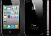 Iphone 4 32 gigas nuevo con caja y accesorios desbloqueado con gevey