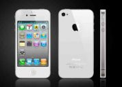 Iphone 4s 16gb blanco desbloqueado de paquete