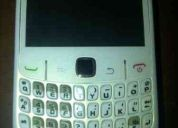 Vendo blackberry curve 8520 flamante color blanco!!!