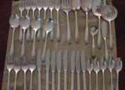 Cubiertos de plata (roger bros. 1847)