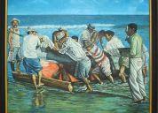 Vendo cuadros pintores ecuatorianos