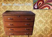 Mueble madera antiguo  retro