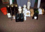 Antiguas botellitas de vidrio, fueron perfume avon