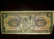 Vendo billetes en perfectas condiciones de 20, 10 sucres