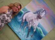 Venta de pinturas-cuadros-obras de arte: lady saltos