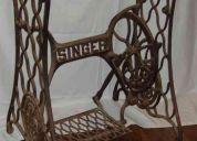 Vendo base de maquina de coser singer