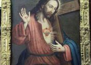 Obra pictÓrica sagrado corazÓn de jesÚs