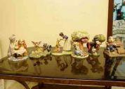 Coleccion ceramicas personajes de disney originales son seis figuras