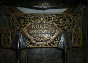 Vendo sillon koken st. louis del aÑo 1901