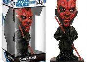 Star wars action figure,  darth maul headknocker 17 cms