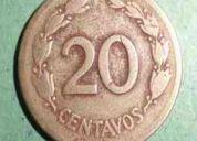 Monedas antiguas amarillas
