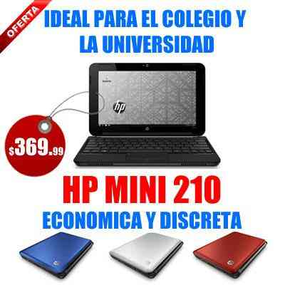 NETBOOK COMPUTADORA HP MINI 210 NUEVA