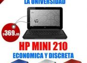 Netbook computadora hp mini 210 nueva