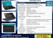 Espectacular laptop toshiba 3i, 4gb, 400gb - negociable