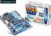 Mainboard gigabyte ga-x58-usb3, socket lga1366, usb3.0,