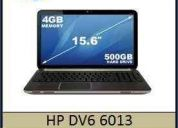 Hp dv6 6013 2.1 ghz 2nd intel core i3-2310m