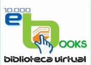 dvd 10,000 e-books, con todos los géneros de literatura