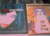 6  dvds metal +2 cds 150.00