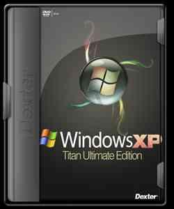 WINDOWS XP SP3 TITAN 2.4 AUTOINSTALABLE CON PROGRAMAS