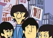 The beatles cartoon coleccion de 4dvd 39 episodios