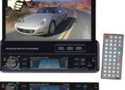 Radio auto dvd pyle plts77du  touch 7, dvd/cd/mp3/mp4/usb/sd/am-fm/rds