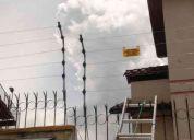 Cercas electricas de alto voltaje