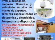 Seguridad electrÓnica cctv, alarmas, accesos, automatismos